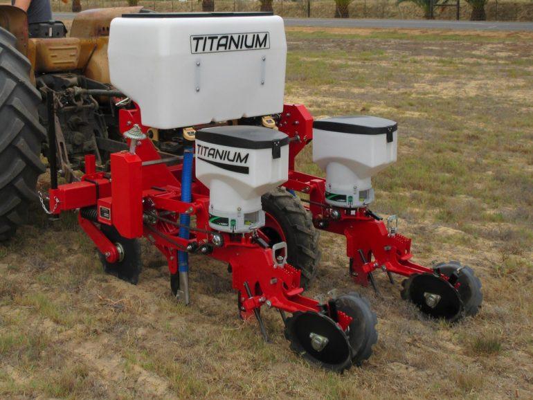 Titanium mechanical precision planter
